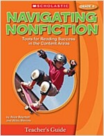 Navigating Nonfiction, Grade 4 [With Poster] (Spiral)