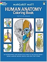 Human Anatomy Coloring Book (Paperback)