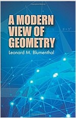 A Modern View of Geometry (Paperback)