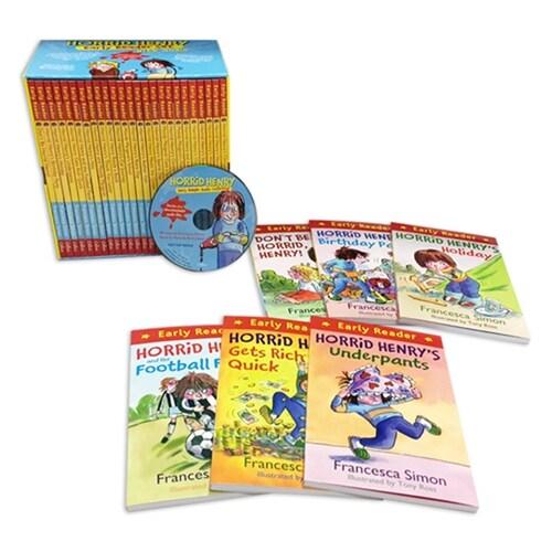 [중고] Horrid Henry Early Reader Set (도서 25권 + MP3 CD 1장) (Book 25권 + MP3 CD 1장 + 단어장)