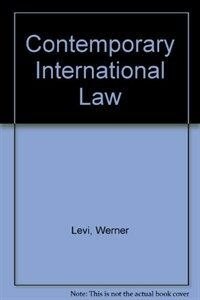 Contemporary international law : a concise introduction
