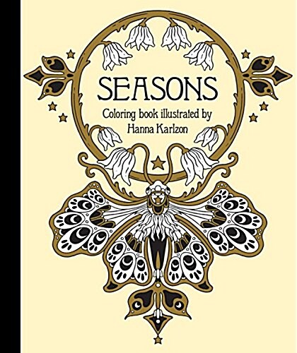 Seasons Coloring Book: Published in Sweden as Tidevarv (Hardcover)