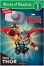 World of Reading This Is Thor (Level 1): Level 1 (Paperback)