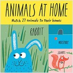 Animals at Home : Match 27 animals to their homes (Game)