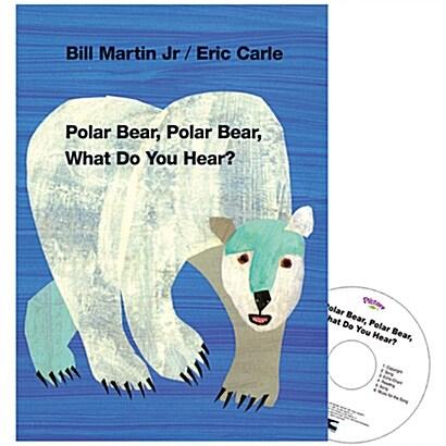 Pictory Set PS-04 / Polar Bear Polar Bear What Do you hear? (Book + Audio CD )