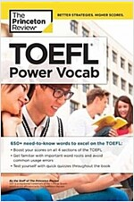 TOEFL Power Vocab: 800+ Essential Words to Help You Excel on the TOEFL (Paperback)