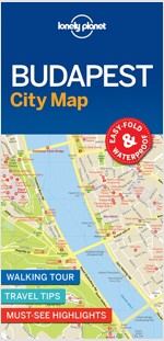 Lonely Planet Budapest City Map (Folded)