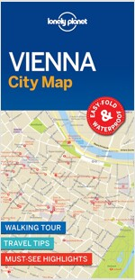 Lonely Planet Vienna City Map (Folded)