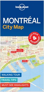 Lonely Planet Montreal City Map (Folded)
