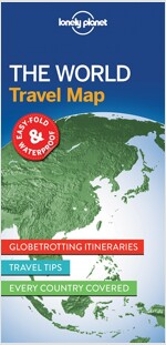 Lonely Planet the World Planning Map (Folded)