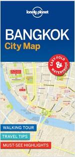 Lonely Planet Bangkok City Map (Folded)