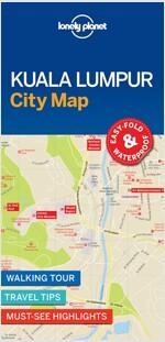 Lonely Planet Kuala Lumpur City Map (Folded)