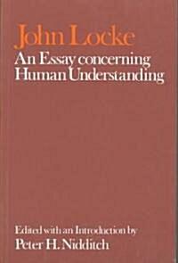 John Locke: An Essay concerning Human Understanding (Paperback)