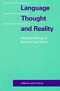 Language, Thought, and Reality: Volume 2: 1860-1976 (Paperback)