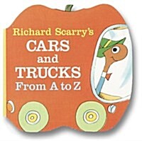 Richard Scarrys Cars and Trucks from A to Z (Board Books)