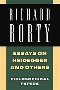 Essays on Heidegger and Others : Philosophical Papers (Paperback)