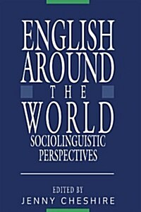 English around the World : Sociolinguistic Perspectives (Paperback)