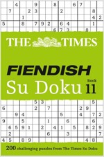 The Times Fiendish Su Doku Book 11 : 200 Challenging Puzzles from the Times (Paperback)