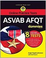 ASVAB Afqt for Dummies: Book + 8 Practice Tests Online (Paperback, 3)
