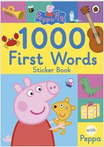 Peppa Pig: 1000 First Words Sticker Book (Paperback)