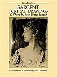 Sargent Portrait Drawings: 42 Works (Paperback)