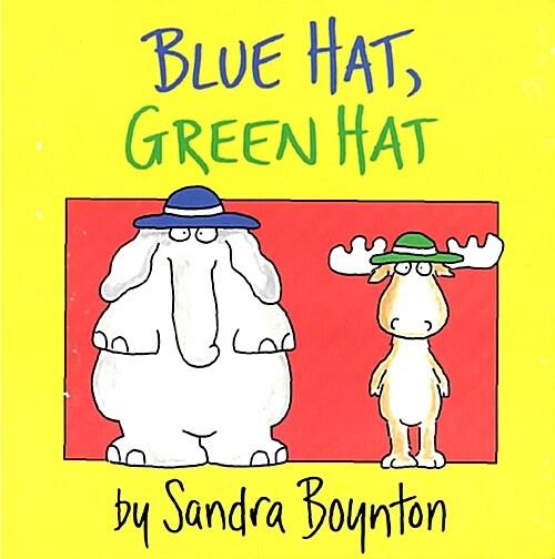 Blue Hat, Green Hat (Board Books)