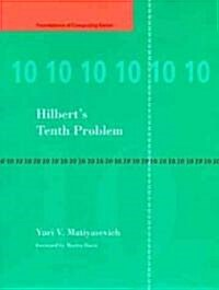 Hilberts Tenth Problem (Hardcover)