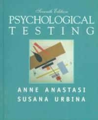 Psychological testing 7th ed