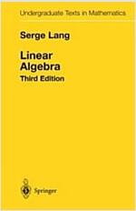 Linear Algebra (Hardcover, 3, 1987. Corr. 11t)