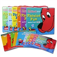 클리포드 파닉스 Clifford Phonics Fun Pack 1~6 full set (Paperback 72권 + CD 6장)