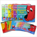 클리포드 파닉스 Clifford Phonics Fun Pack 1~6 full set (Paperback 72권 + CD 6장)