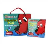 클리포드 파닉스 Clifford Phonics Fun Pack #1 (페이퍼북 12권 + CD 1장)
