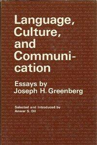 Language, culture, and communication :
