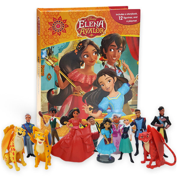My Busy Books : Disney Elena of Avalor 디즈니 엘레나 오브 아발로 비지북 (미니피규어 12개 + 놀이판)