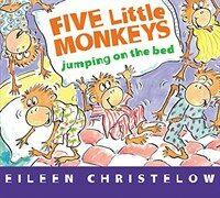 Five Little Monkeys Jumping on the Bed (Board Book) (Board Books)