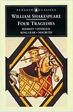 Four Tragedies : Hamlet, Othello, King Lear, Macbeth (Paperback)