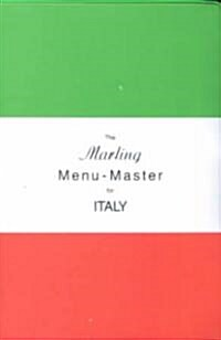 The Marling Menu-Master for Italy (Paperback)