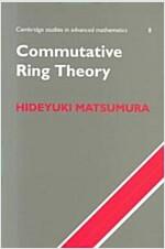 Commutative Ring Theory (Paperback)