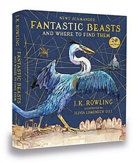 Fantastic Beasts and Where to Find Them : Illustrated Edition (Hardcover)