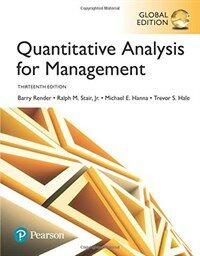 Quantitative Analysis for Management, Global Edition (Paperback, 13 ed)