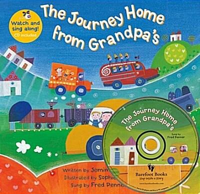 노부영 세이펜 Journey Home from Grandpas (하이브리드 CD 포함) (Paperback + Hybrid CD)