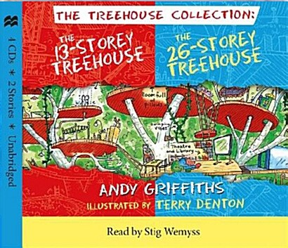 The 13-Storey & 26-Storey Treehouse CD set (Package)