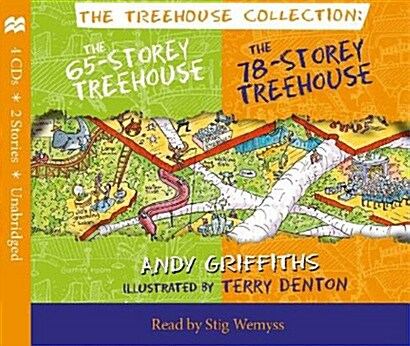 The 65-Storey & 78-Storey Treehouse CD Set (Package)