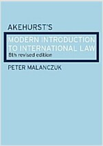 Akehurst's Modern Introduction to International Law (Paperback, 8 New edition)