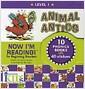 [중고] Animal Antics [With Stickers] (Hardcover)