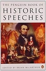 [중고] Historic Speeches, the Penguin Book of (Paperback)