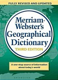 Merriam-Websters Geographical Dictionary (Hardcover, 3)