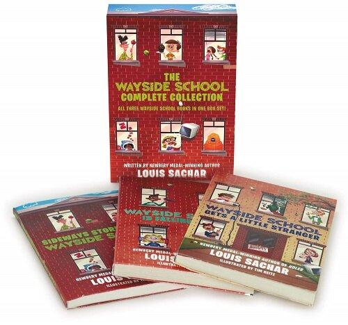 The Wayside School 3-Book Box Set: Sideays Stories from Wayside School, Wayside School Is Falling Down, Wayside School Gets a Little Stranger (Boxed Set)