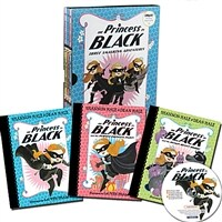 The Princess in Black #1~3 Box Set (Paperback 3권 + CD 1장 + Word List)