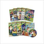 Ballpark Mysteries #1~10 챕터북 Set (Paperback 10권 + CD 10장 + Word List)